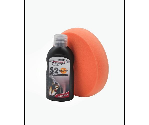 Экстраабразивная полировальная паста S2 Orange Rubbing Compound 100 g  Scholl Concepts