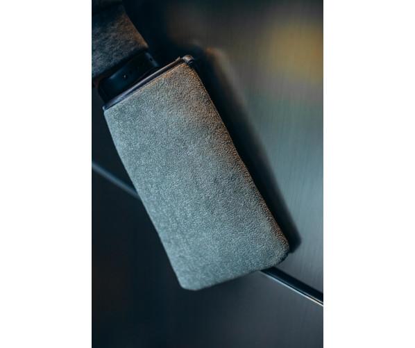 Рукавиця для чищення нержавійки, хрому та нікеля Washing glove stainless steel grey 1 pc DeWitte
