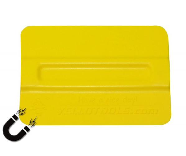 TonnyMag Basic Plastic-Squeegee  Ракель для поклейки плівки, жовтий  (70°)