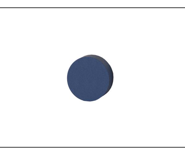 Polishing Pad Soft 32x12 Dark Blue