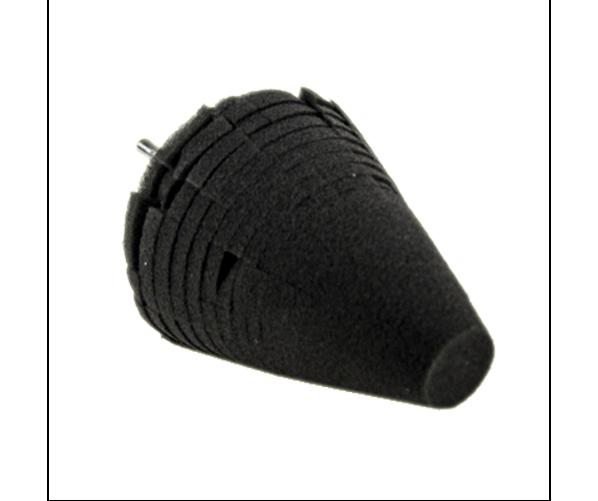 """Фінішний конусний круг Uni-Cone Black Finishing Cone - 4"""""""