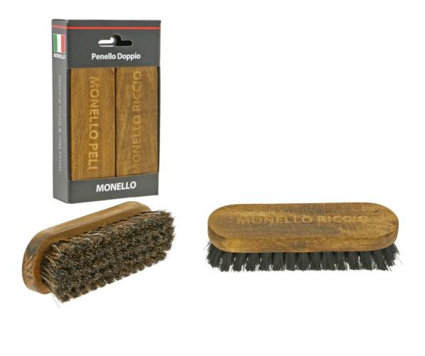 Набор щеток для чистки интерьера Pennello Doppio Horse Hair & Nylon Brushes