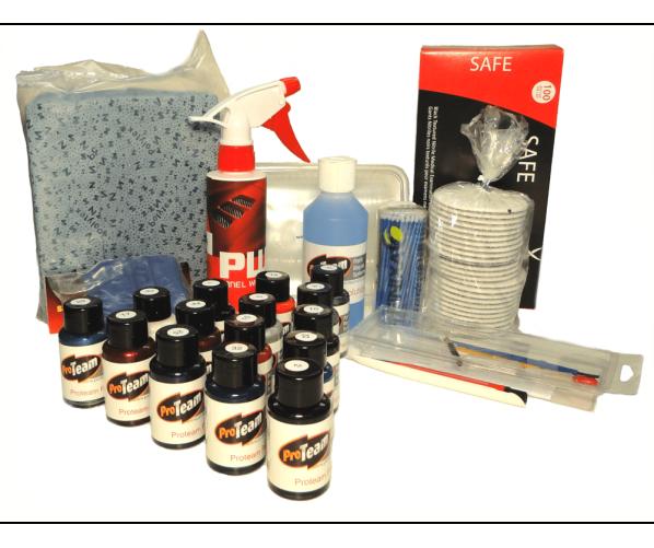 Набір для реставрації лакофарбового покриття Essential kit