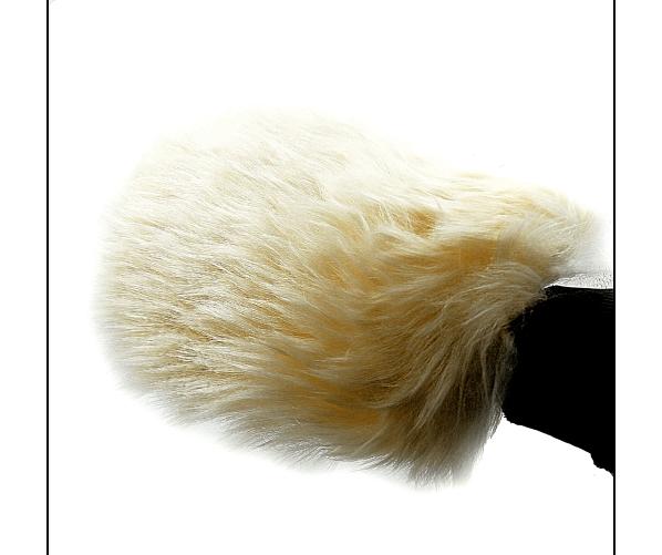 Wash Mitt, Long Soft, Wool Lambskin Nanolex