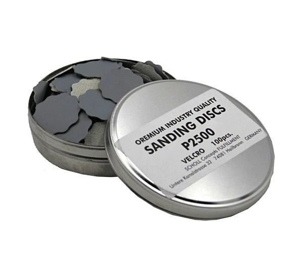 "Шлифовальные диски Velcro Sanding Paper 32 mm ""P2500"" KIT 100 pcs"