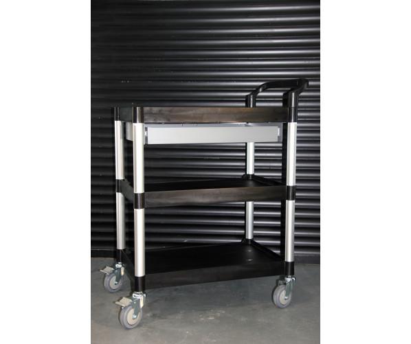 Трирівневий візок з висувним ящиком  Multipurpose trolley with drawer