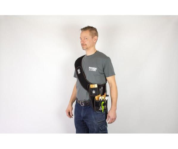 YelloGear BaseSet Sash - Nylon toolset bag Наплечный набор аксессуаров для поклейки пленки Yellotools