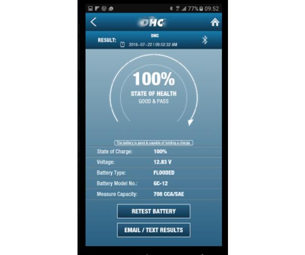 Тестер для аккумулятора Battery Tester