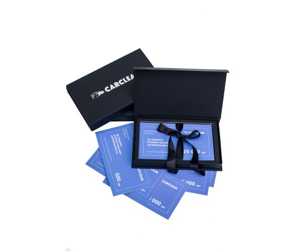 Брендовая продукция Подарочный сертификат на товары в интернет-магазине Autodetailing.ua, 25 000 грн,  фото