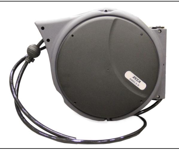 Шланговая катушка для передачи сжатого воздуха Катушка воздушного шланга 16 м / Ø 8 мм