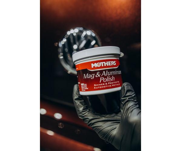 Паста для алюминиевых и нержавеющих поверхностей Mag&Aluminum Polish 283g  Mothers