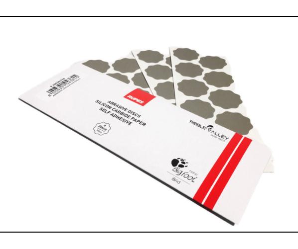 Додаткові шліфувальні диски до машинки iBrid Abrasive discs P3000/35MM 10 pc
