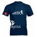Брендовая футболка Rupes BigFoot T-Shirt Evolution Blue L