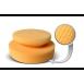 Ручний аплікатор для нанесення полімерів Spider Cleaning Hand Puck 130*50 mm, Honey