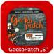"GeckoPatch, X-treme Mat with spring band steel Магніт для немагнітних поверхонь GeckoPatch, X-tremeMat with spring band steel ""S"" 5х5 см"
